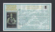 2000 Norfolk Island Malcolm Champion Olympian SG MS737 cto