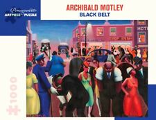 Pomegranate Jigsaw - Black Belt by Archibald Motley (1000 pieces)