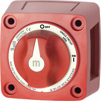 """Blue Sea 6006 M-Series Battery Switch Single  On/Off Marine Boat """"New Style"""""""