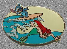 DISNEY AUCTIONS Pin LE 500 - Stitch & Ariel The Little Mermaid