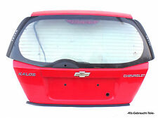 Chevrolet Kalos 1.2 Heckklappe ohne Anbauteile Rot / 71U
