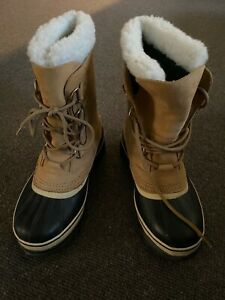 sorel womens boots size 39 caribou, new without box