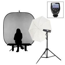 Individual Escuela Portátil Retrato Flash Kit sony Batería Accionado Luces 200Ws