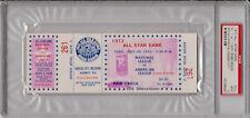 1973 Baseball All Star Game Ticket Full PSA 9 - Highest Grade