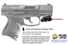 ArmaLaser GTO for Walther P99c - Red Laser Sight w/ FLX43 Grip Touch Activation