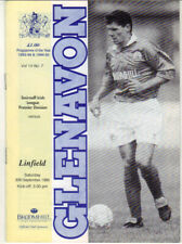 1995/96 Glenavon v Linfield - Irish League - 30th Sept - Vol 14 No 7