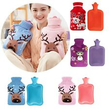 Hot Water Bottle Warmer Set 800 ML,Heat Up and Refreezable Hot Cold Pack