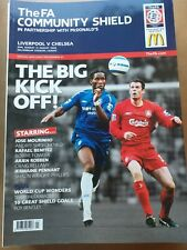 More details for liverpool v chelsea 2006 community shield programme at the millennium stadium