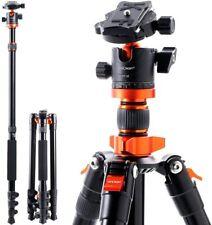 Ergonomically 3D Anti-Skid Bearing Platform Diyeeni Monopod with Storage Bag for Traveling and Shooting,155cm 6 Sections Telescopic Camera Unipod Monopod with Sponge Handle
