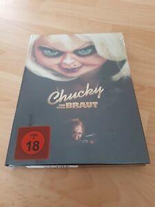BLU-RAY  BRIDE OF CHUCKY -MEDIABOOK -Birnenblatt 381/555 Cover B und seine Braut