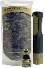 ( 1 ) Aquamira Tactical Frontier Pro Water Filter  Camping Scout Survival  9430