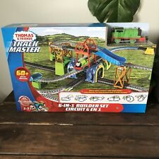 6-in-1 Trackmaster Thomas The Train And Friends Percy Motorized Engine Build Set