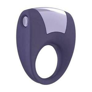 OVO B8 Penis Ring Vibrating Purple Powerfull Vibrator for Cock Silicone Genuine