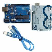 ARDUINO UNO R3 Board ATmega328P ATMEGA16U2 Compatible Board + USB Cable UK Stock