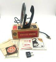 Vintage GE Spray Steam Dry Travel Iron