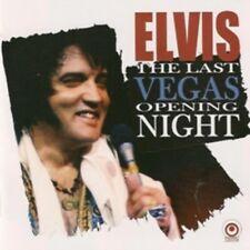Elvis Presley - THE LAST VEGAS OPENING NIGHT - CD - New Original Mint