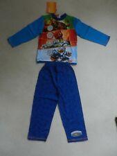 BNWT TU Boys Skylanders Jet Vac Hot Dog Tree Rex Crusher PJ's Pyjama's 4-5 Years