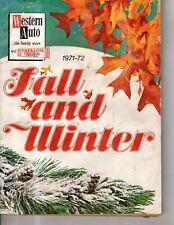 1971 Western Auto Fall & Winter Catalog - dolls, Malibu Barbie, Peddle cars,toys