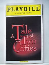 A TALE OF TWO CITIES Playbill JAMES BARBOUR / GREGG EDELMAN Flop NYC 2008