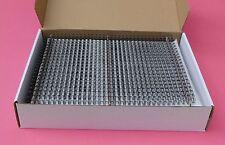 """9.5mm 3/8"""" TWIN LOOP BINDING WIRE 34 Loop Box of 100 - Black/Gold"""