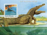 Guinea-Bissau Dinosaurs Stamps 2003 MNH Dinosaur Prehistoric Animals 1v S/S