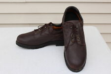 Mens Sz 16 EE Wide PW MINOR Apprentice Brown Dress Shoes Ortho Orthopedic $260