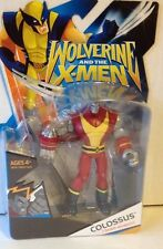 Marvel univers figure de colosse action figure de wolverine et les x-men