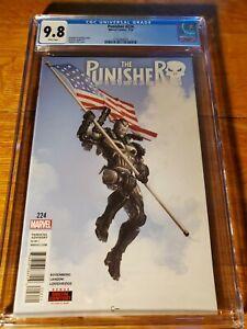 CGC 9.8 THE PUNISHER #224 - 1st Print - Clayton Crain Cover - Marvel Comics 2018