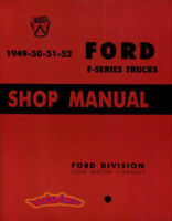 SHOP MANUAL SERVICE REPAIR FORD TRUCK BOOK PICKUP F-SERIES WORKSHOP GUIDE