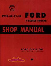 SHOP MANUAL SERVICE REPAIR FORD TRUCK BOOK PICKUP F-SERIES WORKSHOP GUIDE