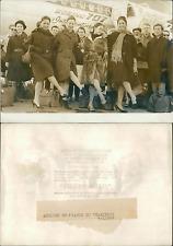 Harkness Ballet de New York à Paris Vintage silver print  Tirage argenti