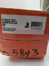 Diamond Products Core Bore 5843 5 Inch Premium Black Wet Core Bit