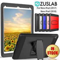 """For iPad 9.7"""" 5th 6th Gen Case Heavy Duty Stand Rugged Protector Screen Cover"""