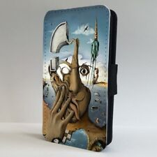 Salvador Dali Abstract Face Art FLIP PHONE CASE COVER for IPHONE SAMSUNG