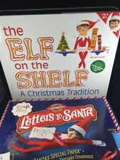 Elf on the Shelf: A Christmas Tradition (blue-eyed Girl) & Letters to Santa Lot