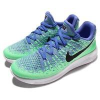 Nike Wmns LunarEpic Low Flyknit 2 II Blue Green Women Running Shoes 863780-401