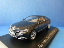 MERCEDES BENZ C KLASSE C250 COUPE 2011 MATT NIGHT BLACK NOREV 351320 1/43 CLASS