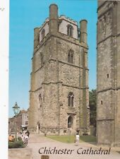 CHICHESTER  - CATHEDRAL BELL TOWER COLOUR  POSTCARD