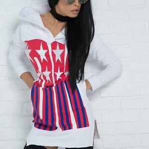 By Alina Damenkleid Partykleid Abendkleid Strandkleid Longshirt 34 - 38 #B407