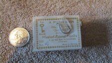 O. Mustad & Son Mustad  Round Fishing Hooks - No. 4 -Qual. 9275  (G 5)