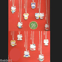 Hello Kitty Zodiac Star Sign Necklace & Pendant Various Signs Ideal Gift