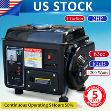 Portable Gas Generator 1200W Emergency Home Back Up Power Camping Tailgating NEW