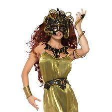 Snake Belt Medusa Goddess Halloween Fancy Dress Costume Gold Snakes Accessory