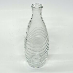 SodaStream Glass Carafe Crystal Penguin Aqua Fizz Carbonating Bottle - NO LID