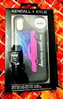 Kendall + Kylie iPhone X Phone Case Cover black-bounce with me, drop tested. New