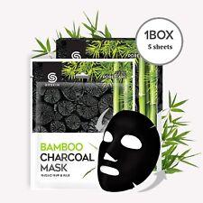 [G9Skin] NEW BAMBOO CHARCOAL MASK [25ml x 5sheets] - Korea Cosmetic