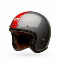 Bell Custom 500 Cruiser Helmet Rally Gloss Gray/Red