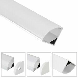 LED Profil Aluprofil Aluminium Leiste Alu Schiene Leiste für LED-Streifen 5×1 m