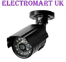 DUMMY CCTV FAKE SECURITY CAMERA ALUMINIUM BODY RED FLASHING LED RRP £19.99