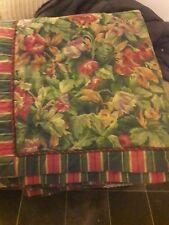 DORMA Croscil Quilted Bedspread Reversable Super kingsize 265 x 275 cm vgc